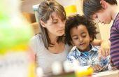 Child Care personeelsvergadering ideeën