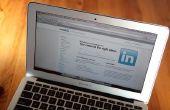 Hoe een lijst van mijn LinkedIn profiel op een CV