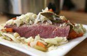 How to Make Corned Beef & kool in een langzame fornuis