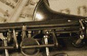 Hoe schoon een mondstuk saxofoon