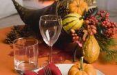 Herfst tafel decoratie ideeën