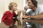 Kun je een zwarte & Shake met chocolade melk wit?