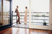 Hoe te repareren van een laminaat vloer die Is scheiden