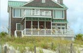Ideeën voor het verfraaien van een strandhuis