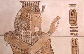 Hoe maak je oude Egyptische hoofdtooien