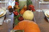De Perfect Thanksgiving tafel (gratis plaats Card afdrukbare inbegrepen)