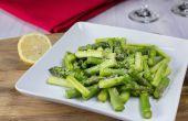 Hoe te eten rauwe asperges