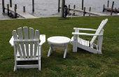 How to Make Adirondack stoelen uit Salvage hek planken