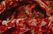 Hoe schoon van bloed uit een vriezer
