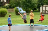Hoe te verankeren van een Trampoline tegen de Wind
