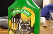 Hoe schoon een koffie-/ theevoorzieningen met citroensap