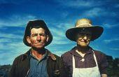 Leven van migrerende landarbeiders in de jaren 1930