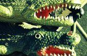 Hoe maak je een Alligator-masker