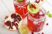Risico's & voordelen van granaatappelsap