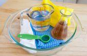 Hoe te verwijderen van verbrande voedsel uit glas kookgerei