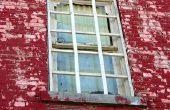 Hoe te verzegelen van een lekkende venster