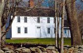 Koloniaal huis verfkleuren
