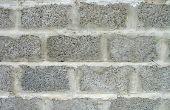 Hoe schoon sintel Block kelder muren