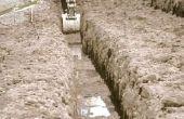 Hoe dicht kan je graven naast een kelder voet?
