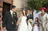 Hoe te decoreren een bruiloft locatie