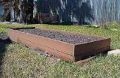 How to Build verhoogde houten bedden