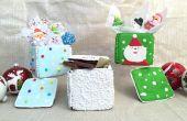 Hoe maak je eetbare peperkoek geschenkdozen