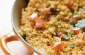 Hoe maak je Spaanse rijst