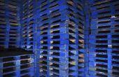 Machines die nodig zijn voor het maken van houten Pallets
