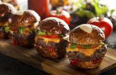 Hoe maak je goede zelfgemaakte Hamburger schuifregelaars