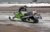 Tekenen van een slechte brandstofpomp in sneeuwscooters