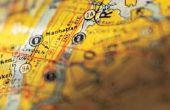 Hoe maak je een imaginaire stad kaart