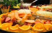 Hoe voor te bereiden van een mooie vrucht lade