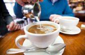 Koppeling met koffie-ijs