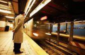 Salaris van een New York City trein dirigent