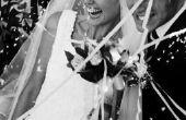 Hoe u toevoegt kristallen aan een bruidssluier