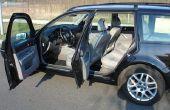 Hoe autostoelen zachter maken