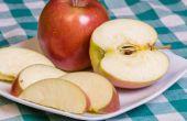 Het behouden van verse appelen