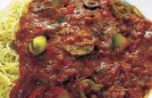 Hoe te knippen te veel peper in tomatensaus