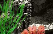 DIY zijde kunstplanten voor een Aquarium