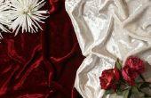 Ideeën voor een bruiloft kleurenschema met zwarte & Bourgondië