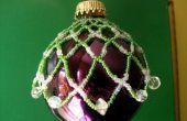 Hoe maak je een gerolde netto Ornament