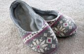 Hoe maak je een paar Slippers