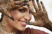 Het snel verwijderen van Henna tatoeages