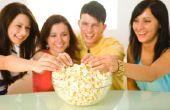 Onderzoek papier ideeën voor projecten van de wetenschap met Popcorn