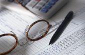 Het aanpassen van de posten voor het verminderen van de marktwaarde