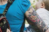 De betekenis van de plaatsing van de lichaam van een tatoeage