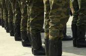 Redenen voor het krijgen van uit Marine Boot Camp
