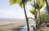 Black Sand Stranden in Costa Rica