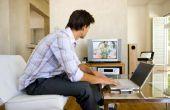 Hoe YouTube-Video bestanden afspelen op TV
