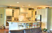 Hoe te te verfraaien van de ruimte boven de keukenkasten